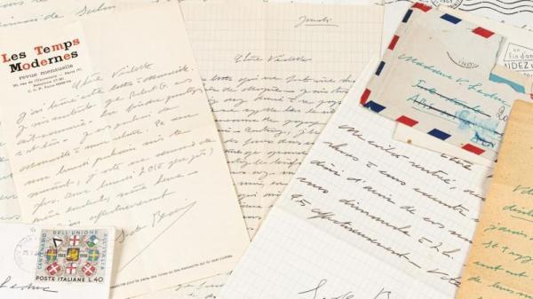 Cartas de Simone de Beauvoir a Violette Leduc.