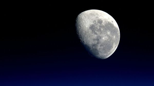 Detalle de la Luna