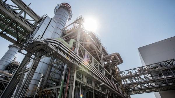 Central Termoeléctrica de la CFE en Morelos