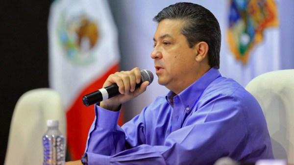 Francisco Javier García Cabeza de Vaca, gobernador de Tamaulipas