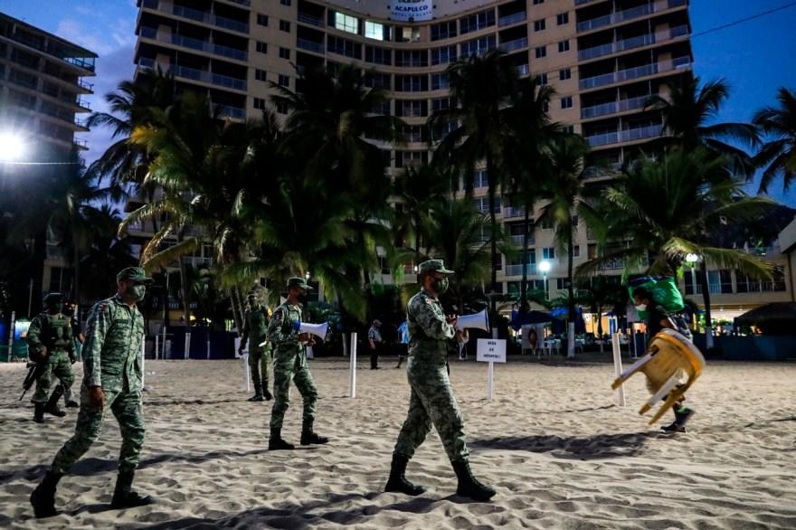 Cierre de playas EN Acapulco playas mexicanas, turismo Coronavirus