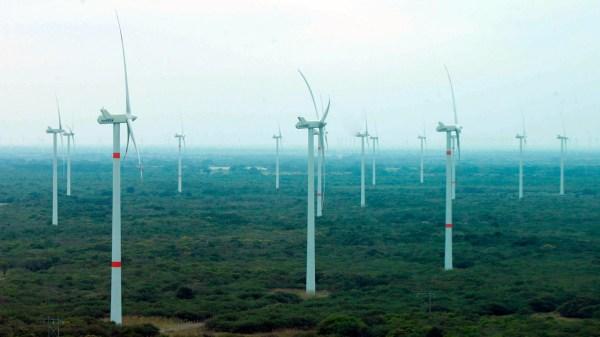 energía eólica, energías renovables mexico, turbinas generadoras
