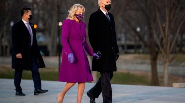 Jill Biden y Joe Bidem