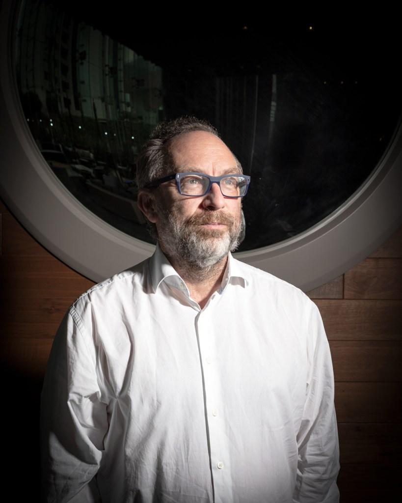 wkipedia Jimmy Wales