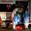 Coronavirus México contagios muertes covid-19 personal medico ambulancia hospital