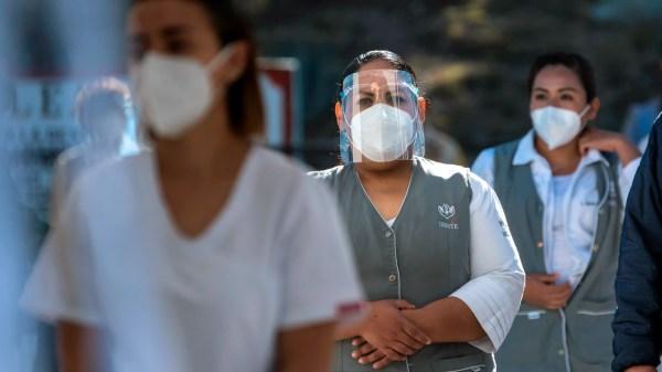 personal medico isste coronavirus Covid-19 mexico