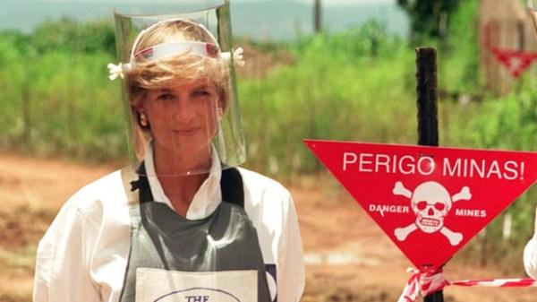Princesa Diana, prohibición de minas