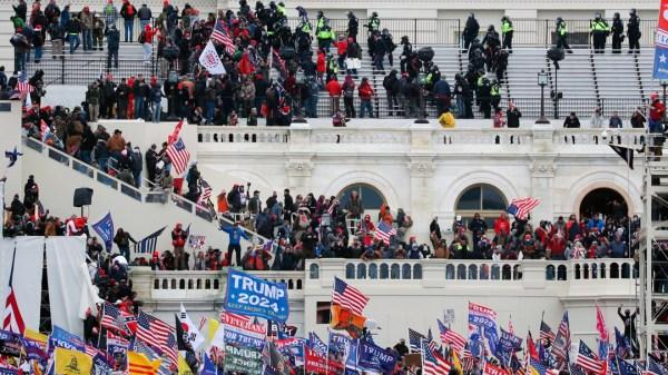 protestas congreso capitolio Estados Unidos