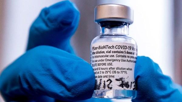 Vacuna Pfizer Biontech vacunación de covid Coronavirus