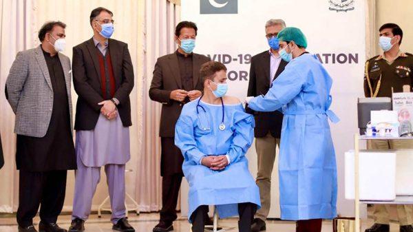 vacunación en Pakistán