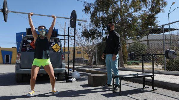 gimnasio al aire libre en Ciudad Juárez