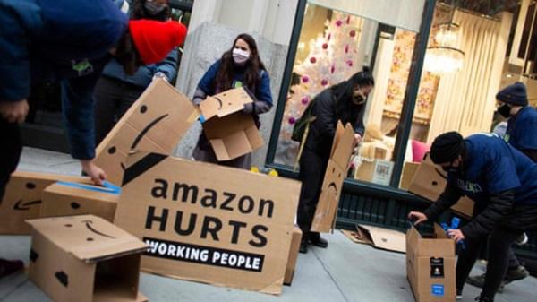 protesta Amazon