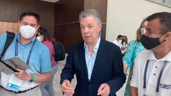 juan Manuel Santos, Colombia