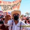 felix salgado macedonio, protesta marcha, salgado macedonio