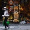 Foto de una persona con mascarilla en Vietnam