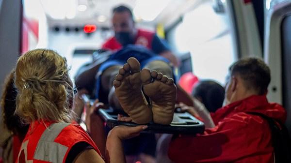 Foto de migrante de Marruecos