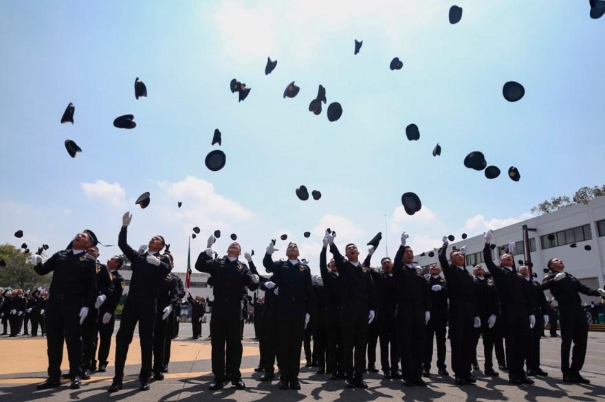 cdmx policías graduación