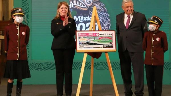 amlo rifa lotería nacional palco estadio azteca casa playa rancho