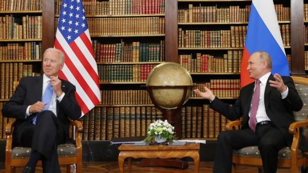 Biden y Putin en la Cumbre de Ginebra
