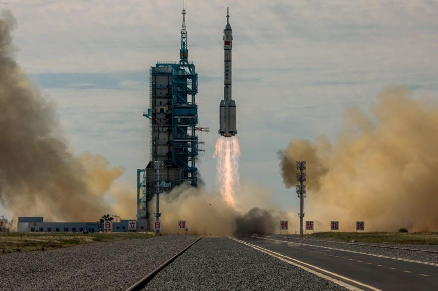 china cohete long-march espacio