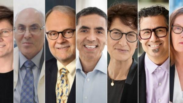 Foto de los ganadores del princesa de asturias de investigación