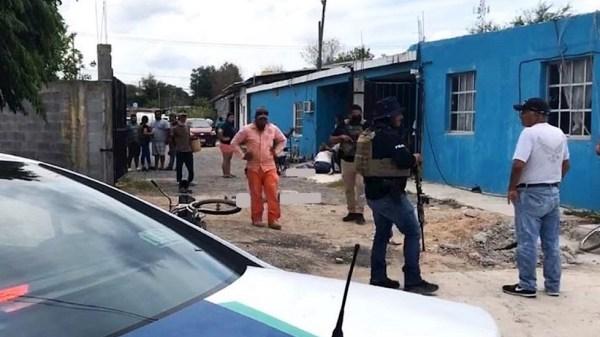 Foto de uno de los ataquies en Reynosa