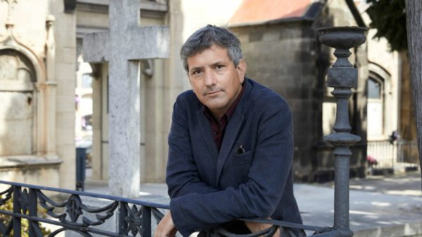Escritor Santiago Roncagliolo