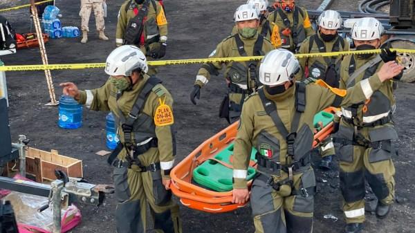 Foto de rescastistas para ilustrar el simulacro nacional