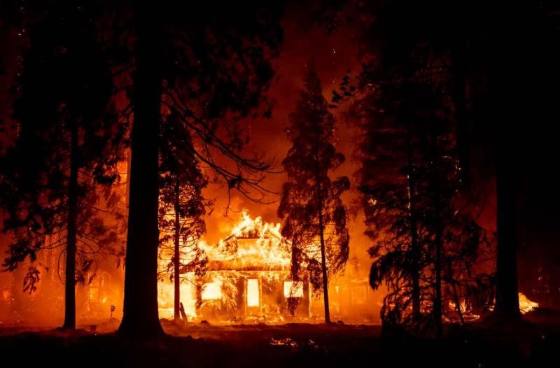incendio estados unidos