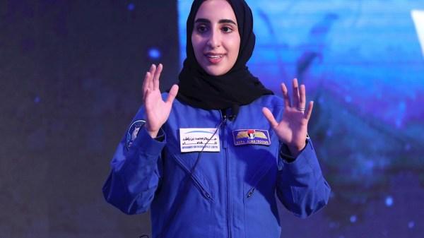 Nora al Matrushi primera astronauta de Emiratos Árabes Unidos
