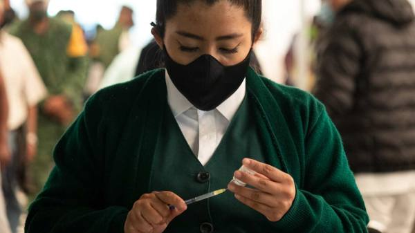 covid pandemia méxico vacuna