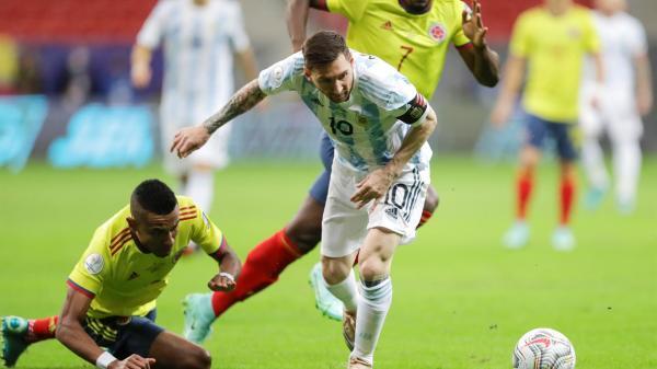 Semifinal entre Argentina y Colombia en la Copa América