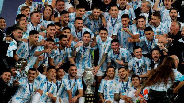 Selección de Argentina y Lionel Messi