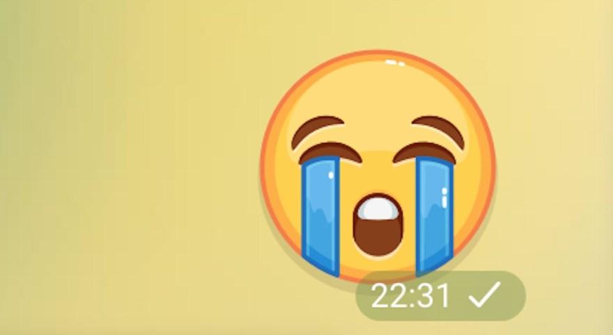 Carita con llanto, uno de los emojis más utilizados