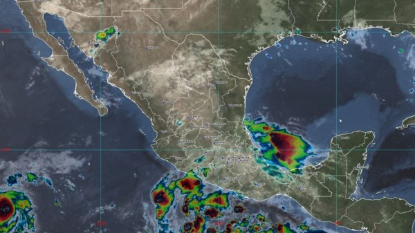 Foto del huracán felicia