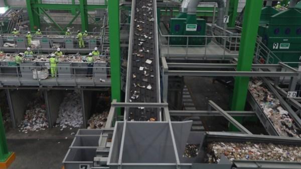 planta de residuos sólidos de la cdmx en azcapotzalco