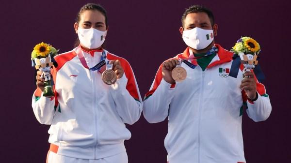 primera medalla México
