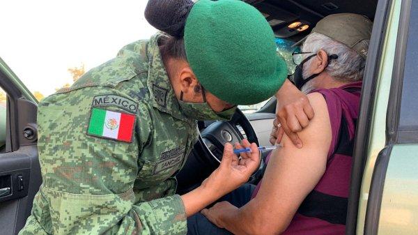 Segundas dosis de vacuna Covid-19 en el Estado de México