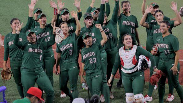 Foto seleccion mexicana de softbol
