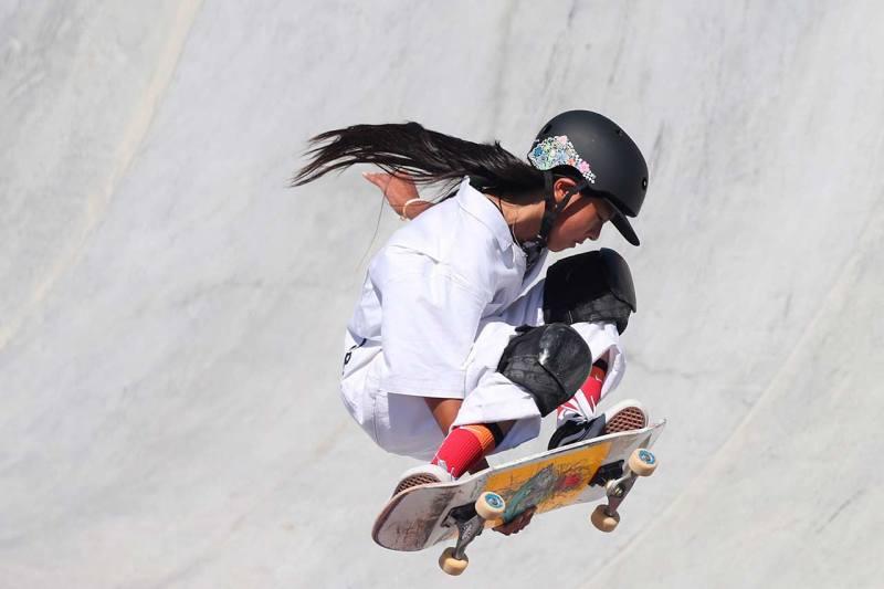 skate adolescente juegos olímpicos
