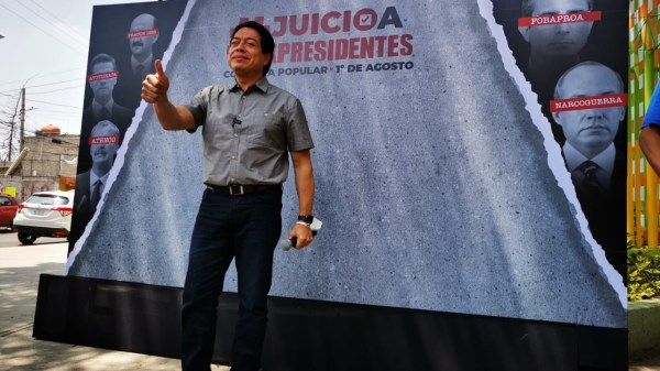 Foto de Mario Delgado, líder nacional de Morena