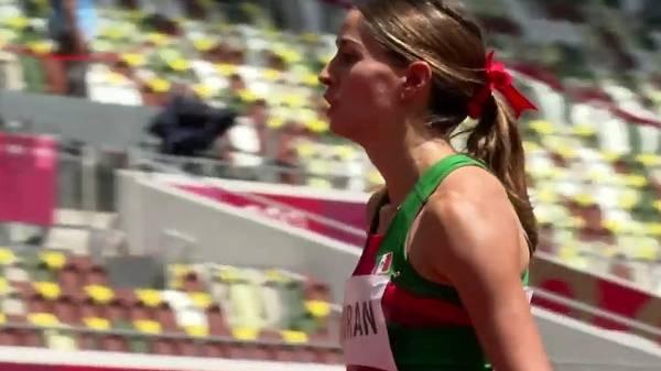 La velocista mexicana Paola Morán