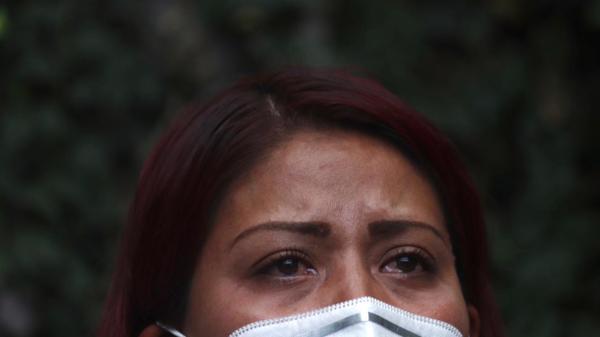 Foto de marisol tapia madre de una de las víctimas de la línea 12