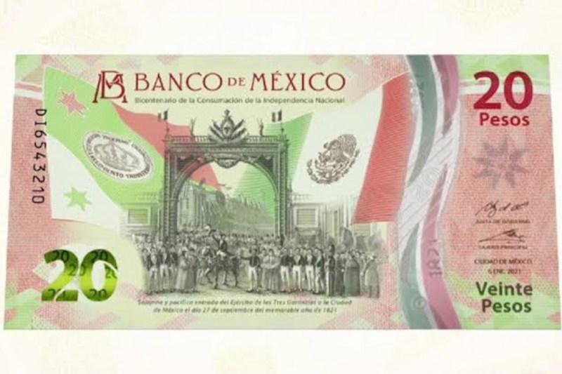 Banxico presenta el nuevo billete de 20 pesos; ya entró en circulación