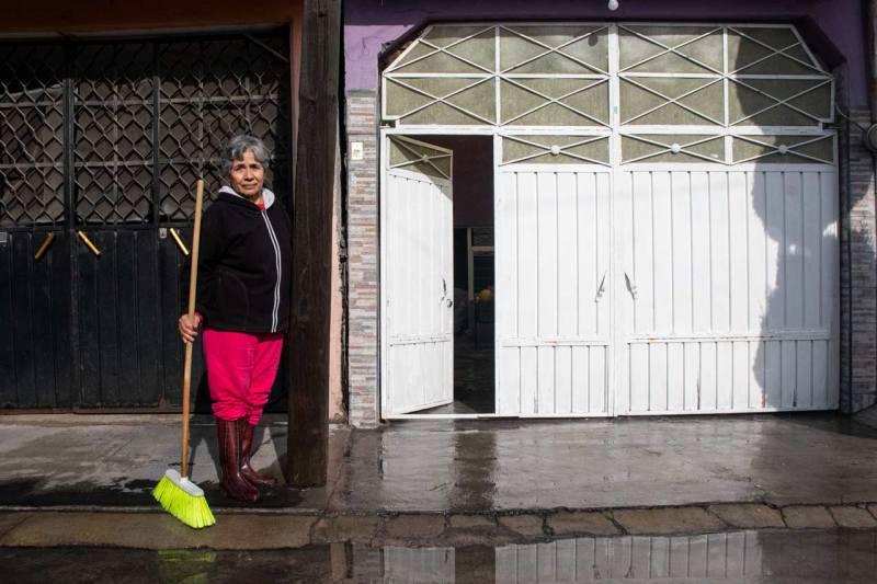 Vecinos de Ecatepec tuvieron inundaciones en sus casas por las lluvias