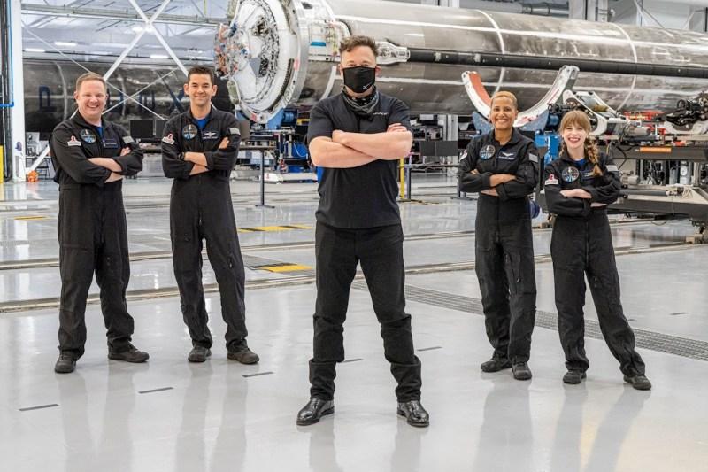 Elon Musk promete 50 mdd a la campaña de beneficencia de Inspiration4