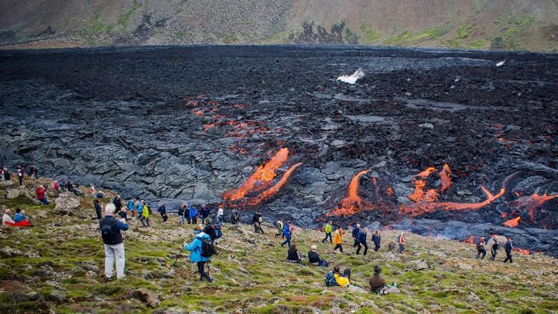 erupción volcánica Islandia
