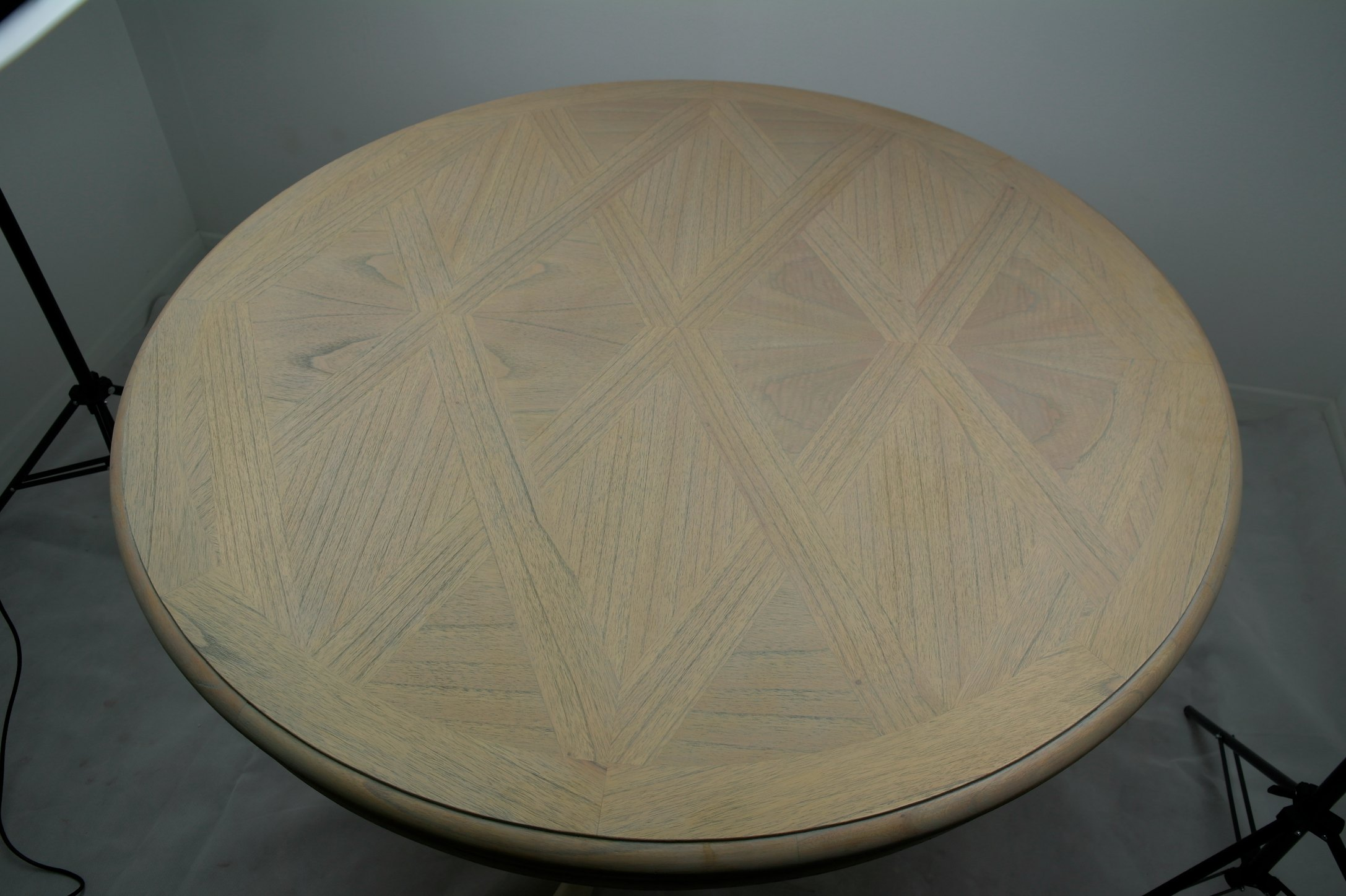 Fleur French Round Drum Top Dining Table Furniture