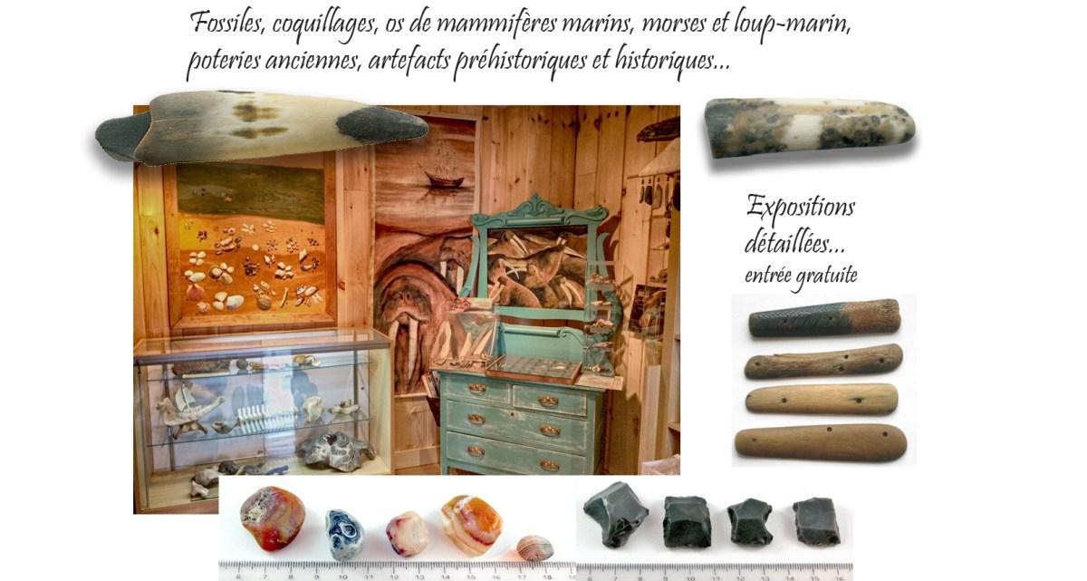 montage artefacts Maison du Héron atr web