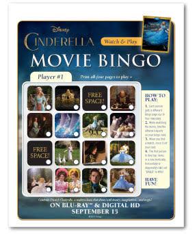 Cinderella Bingo